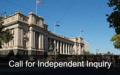 Call for Independent Inquiry into the Victorian Public Psychiatric System