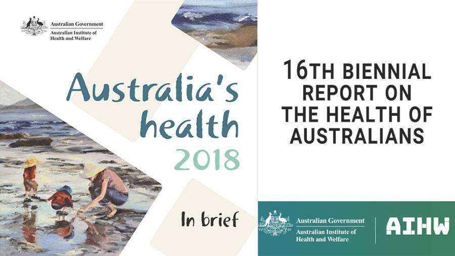Australia's Health 2018 Report