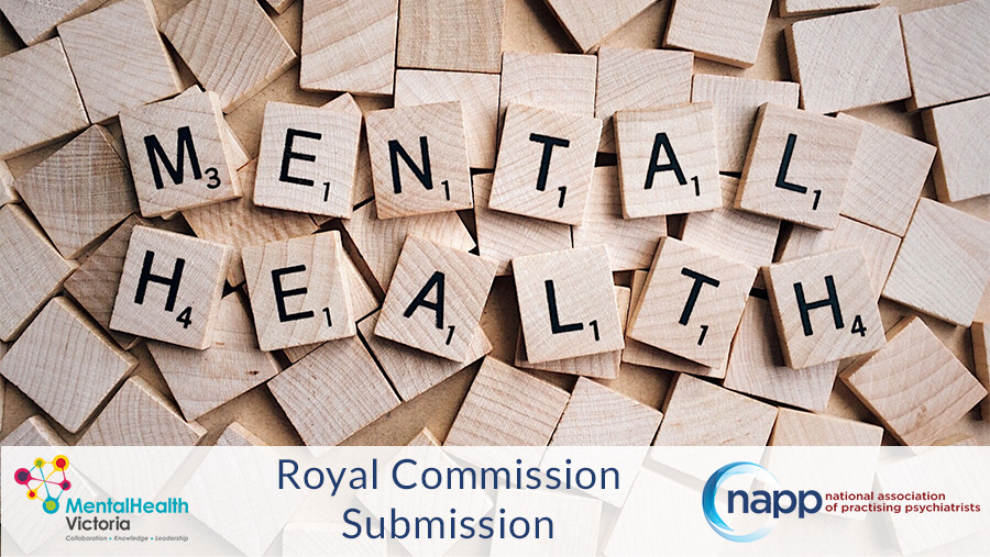 NAPP Submission to the Victorian Mental Health Royal Commission