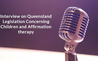 Interview on Queensland legislation concerning children and affirmation therapy